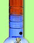 Acrylic Bubble Grip Bong - Red Amp Blue - click to compare prices
