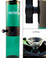 Vortex Gravity Bong - Green - click to compare prices